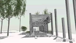 Combined Picnic Shelter Schematic Design