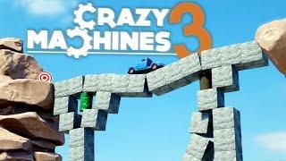 Crazy Machines 3 - One Dangerous Bridge! - Crazy Machines 3 Gameplay Highlights