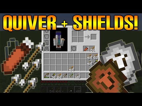 minecraft how to make shielf