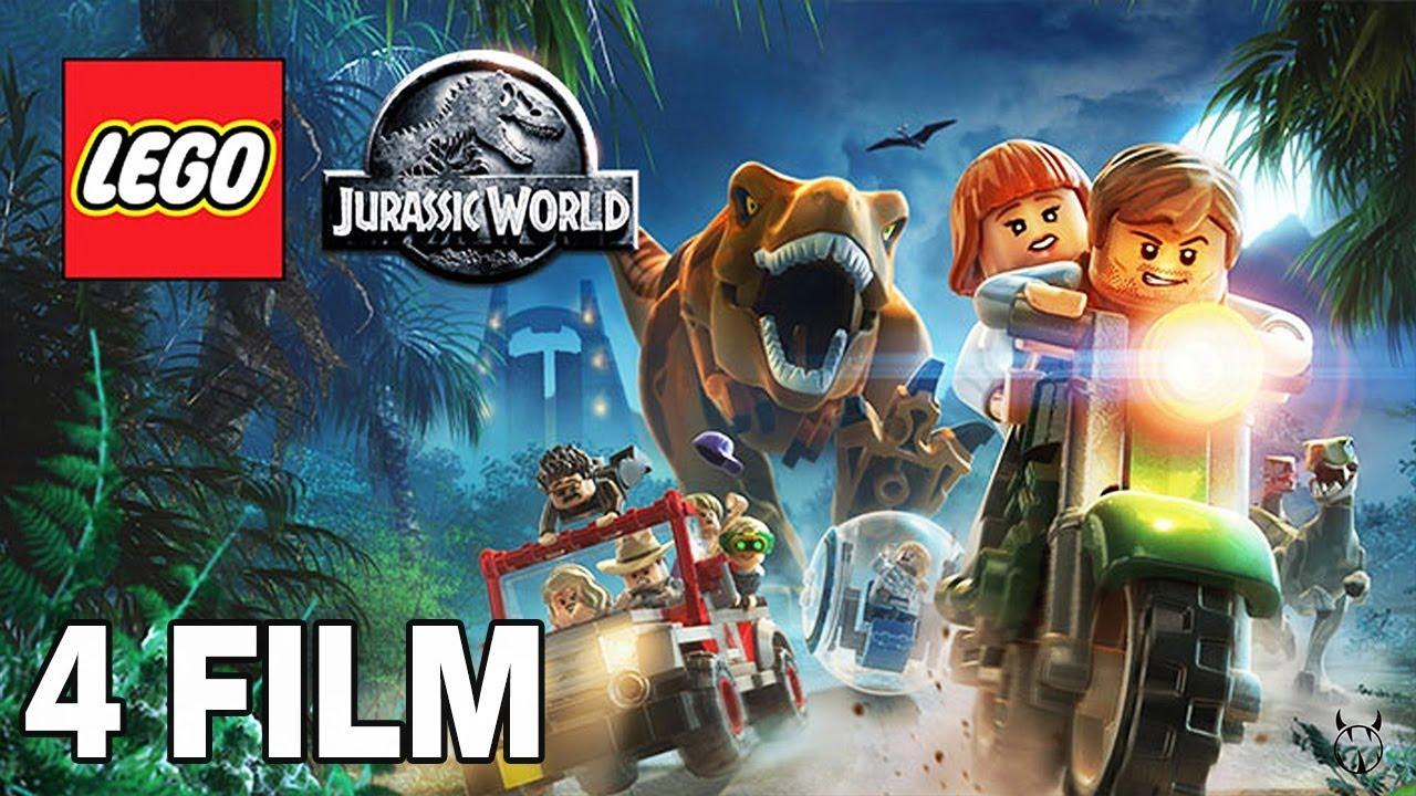 ZACZYNAMY TYTUŁOWY FILM –  LEGO JURASSIC WORLD