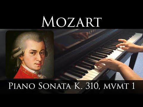 Mozart - Piano Sonata in A minor, K.310, Mvmt I