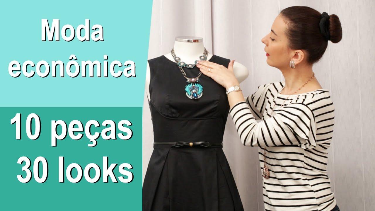 6d99741b3 Moda Econômica –10 PEÇAS 30 LOOKS! - YouTube