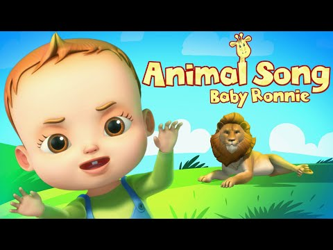 Baby Ronnie Yes Papa | Animal Song | Videogyan 3D Rhymes | Learn Animals For Kids