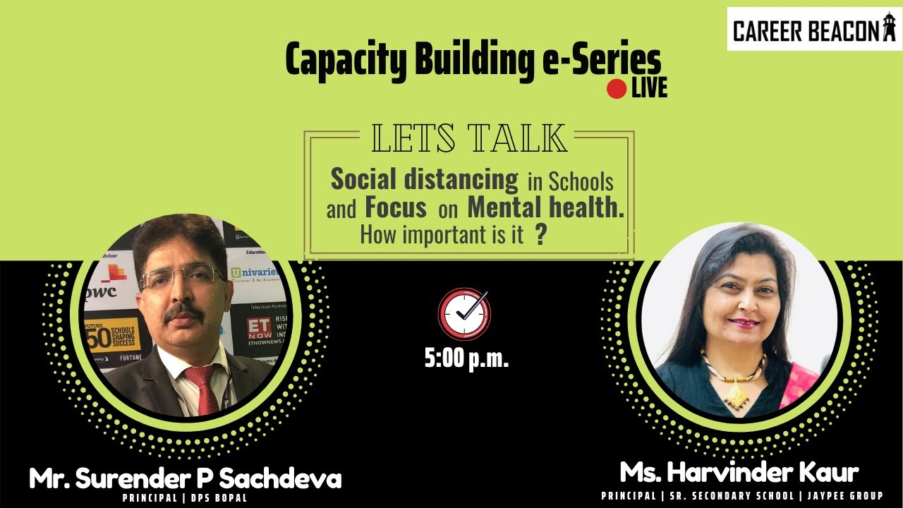 Day 2 Capacity Building series | Social distancing in Schools & Focus on Mental health