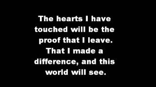 Glee / Beyonce - I Was Here - Karaoke Instrumental Lyrics