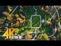 Botanical Park in 4K Ultra HD | Relax Video with Music - Arboretum Volčji Potok, Slovenia