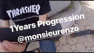 1 Year Scooter Progression - Enzo Tamagno
