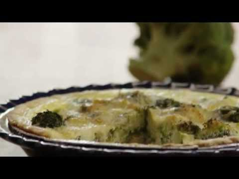 Broccoli Quiche Recipe - How to Make Broccoli Quiche