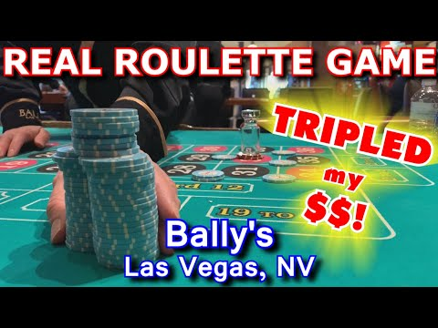 Live Roulette Game #20 - EVERY NUMBER A WINNER! - Bally's, Las Vegas, NV - Inside The Casino