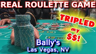 EVERY NUMBER A WINNER! - Lİve Roulette Game #20 - Bally's, Las Vegas, NV - Inside the Casino