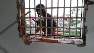 Old window glass Asian #2 More Amazing Videos: Eat sauce working wi...