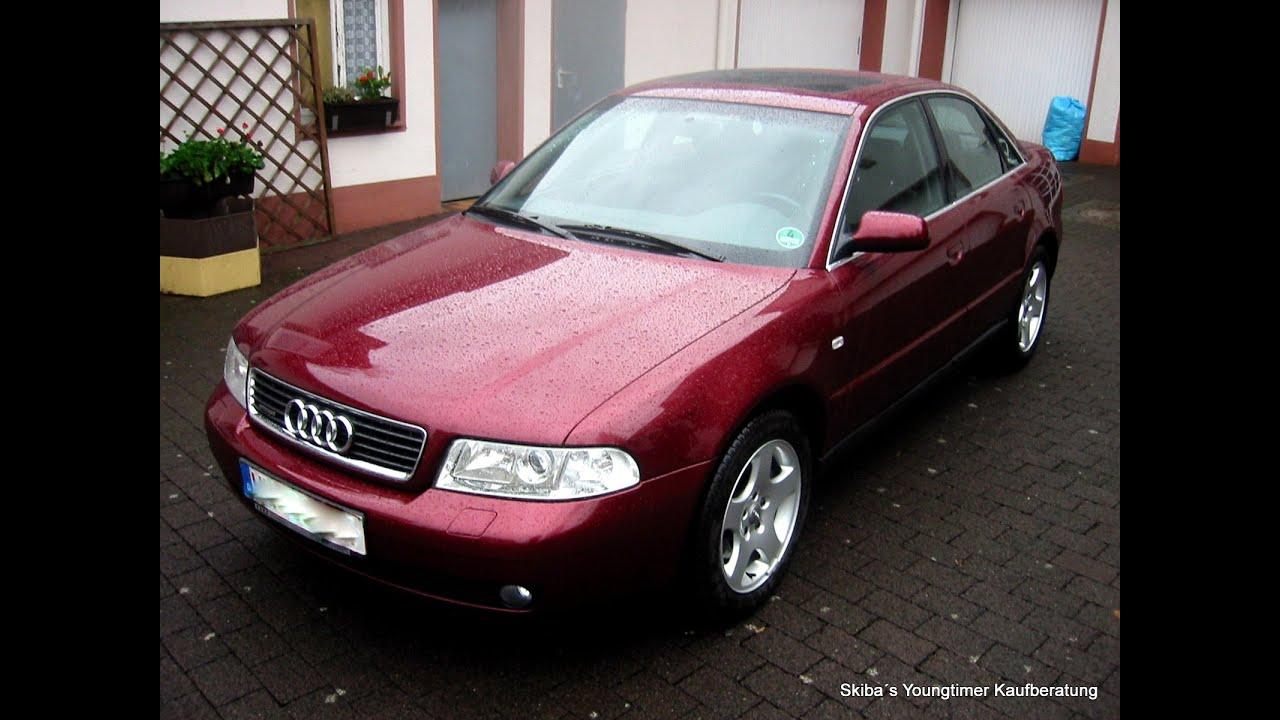 Audi A4 24 Quattro Typ B5 Facelift Ein Zustandsbericht