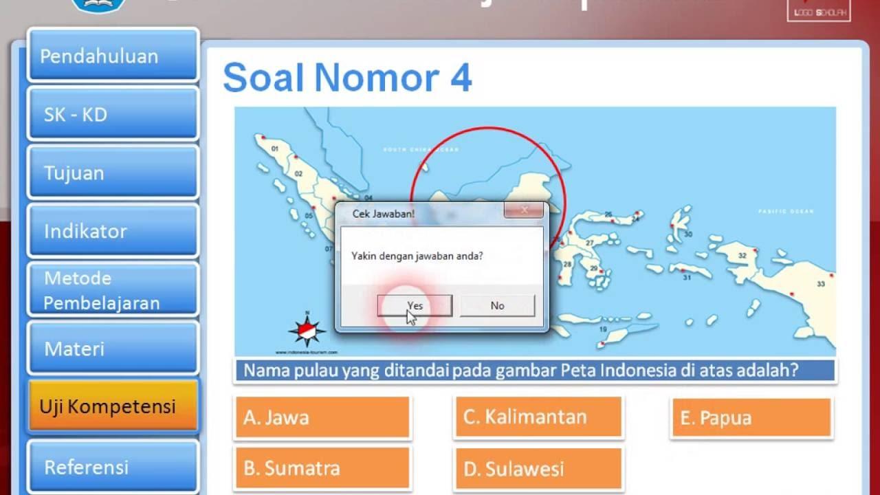 Template Powerpoint Quiz Dan Score Media Pembelajaran Interaktif Untuk Sd Smp Sma Youtube