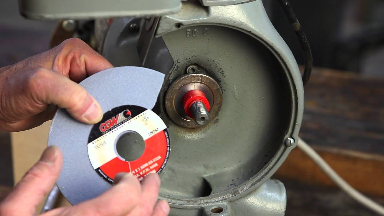 Creating Bushings For Your Grinding Wheels Youtube