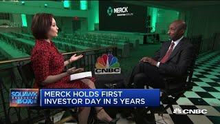 Watch CNBC's full interview with Merck CEO Ken Frazier