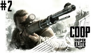 Sniper Elite V2 - Co-Op Gameplay - Part 2 - ALL MY FAULT!