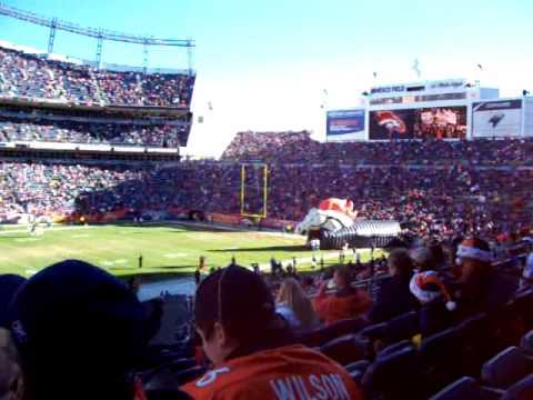 Broncos Game 2005