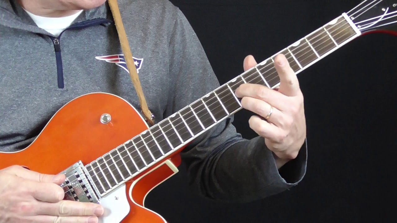 Jimmy Reed Guitar Lesson Big Boss Man Intro