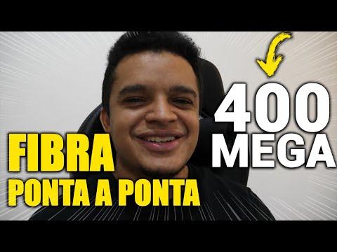 FINALMENTE CONSEGUI INTERNET DE FIBRA, INSTALAÇÃO E TESTE