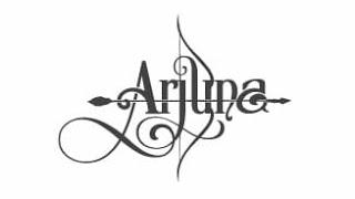 Arjuna name tattoo text