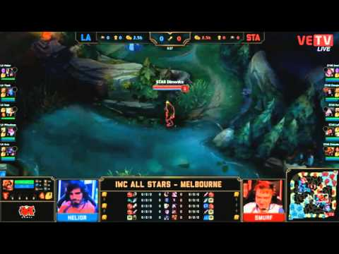 Full game team LA vs team STA - International Wildcard All Star - Melbourne 2015