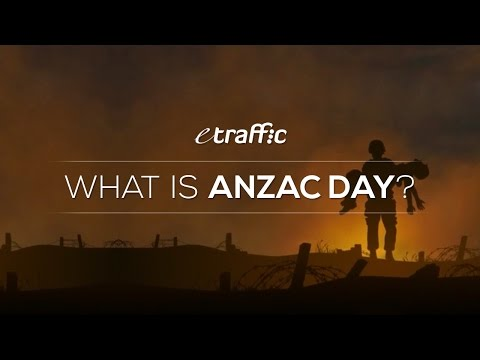 What Is ANZAC Day? ANZAC Day History & Facts For Kids, Families & Schools - BY ETRAFFIC