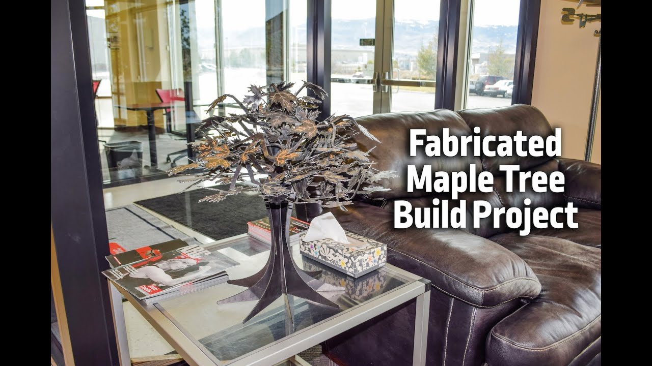 Lincoln Electric Cnc Fabricated Maple Tree Build Project