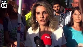 Başak Demirtaş, HDP standını ziyaret etti: Bütün cumhurbaşkanı adaylarına evimin kapısı açık