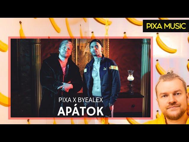PIXA X BYEALEX - APÁTOK