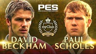 PES 2018 - Beckham and Scholes Legends Trailer
