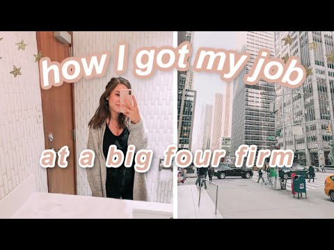 HOW I GOT MY CORPORATE JOB: Getting My Job In Marketing + Project Management At The Big Four