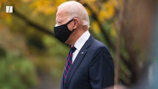 Joe Biden Fractures Foot