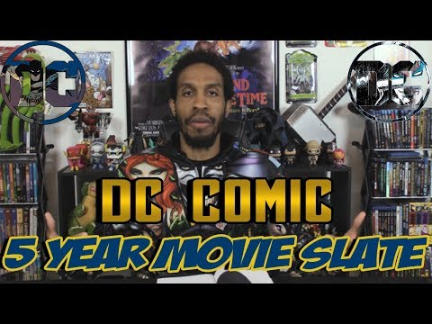 Dc Comic 5 year Movie Slate....Fan Made