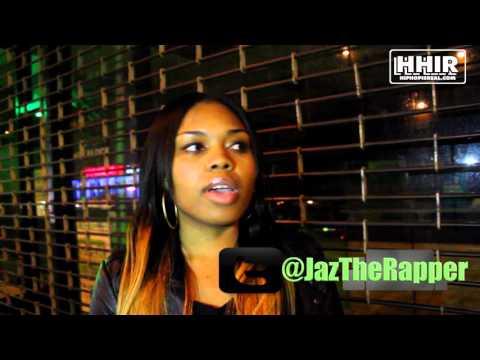 JAZ THE RAPPER NAMES HER TOP 3 HARLEM BATTLE RAPPERS & DECLARES THE # 1 BEST OF HARLEM