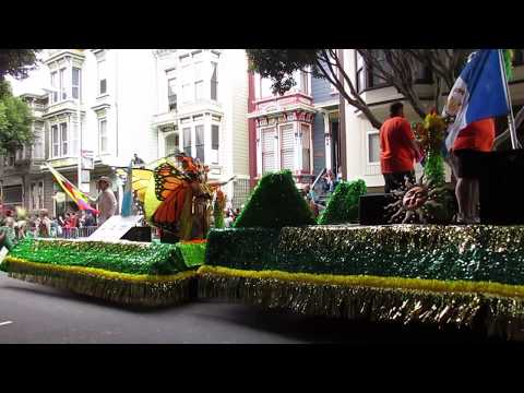San Francisco Carnaval Grand Parade 2017 LAW Latin American Workout