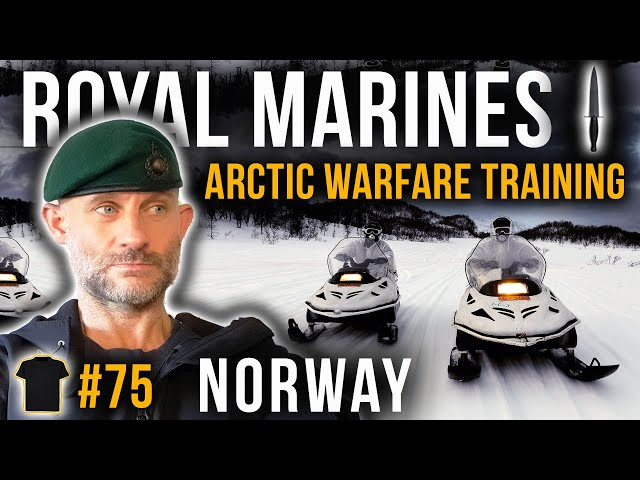 Arctic Warfare Training | AWT | Life In A  Royal Marines Commando Unit | Norway | Chris Thrall