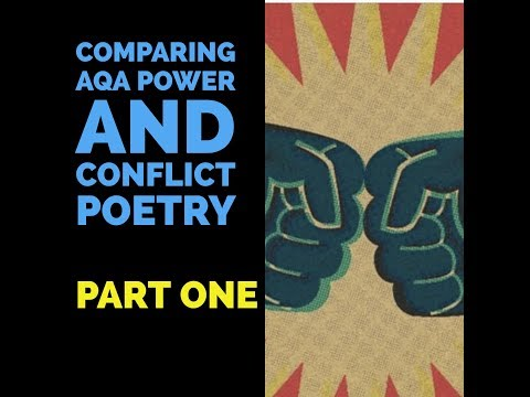 Comparing AQA Power and Conflict Poetry (part one).