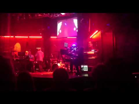 BBC Radiophonic Workshop playing Dr Who theme live (Stockton Arc - 11/06/2016)