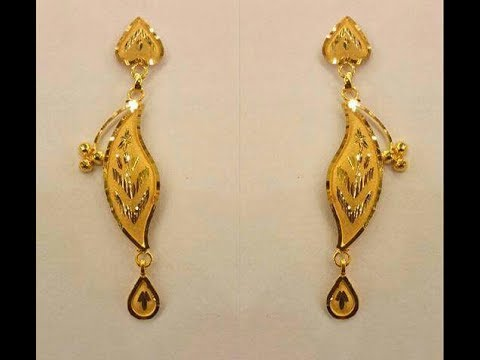 Pure Gold Earrings Designs All New Images Collection