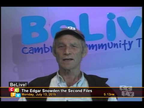 CCTV Cambridge Herbie Talks Heaven, Hell and Fate and Edgar Snowden