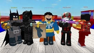ROBLOX WITH FRIENDS FROM GANG DICK!!!