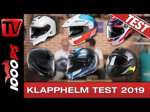 Motorrad Klapphelm Test 2019 - 6 Modulhelme im Vergleich - 5000 km pro Helm!