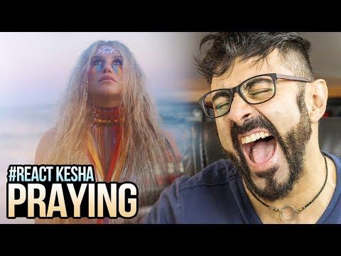 REAGINDO a Kesha - Praying