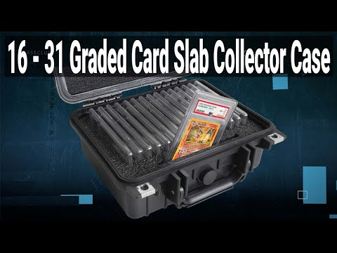 16-31 Graded Card Slab Collector Case - Video