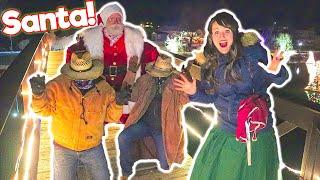 Santa Saves Christmas From The Bandits!