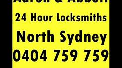 Aaron and Abbott 24 hour Locksmiths North Sydney NSW 2060.wmv
