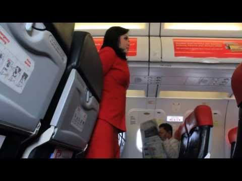 Indonesia AirAsia Safety Demo