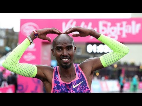 Mo Farah wins London Half Marathon 2018