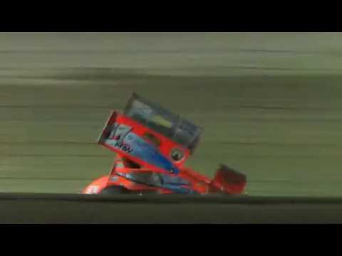 Limaland Motorsports Park NRA 360 Sprint Car restart 7/22/2016