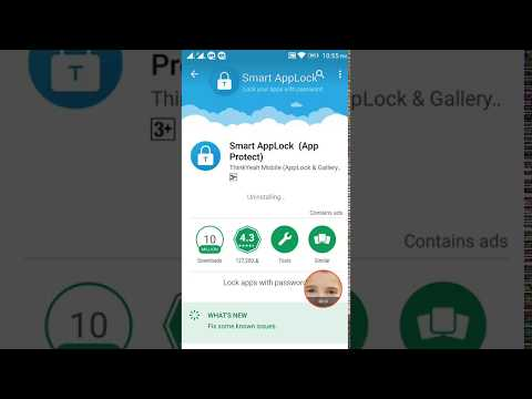 How To Uninstall or Update Smart app lock latest Version Pro